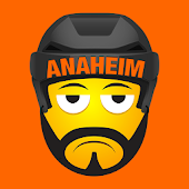 Anaheim Hockey Stickers