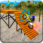 Motocross Beach Adventure Icon