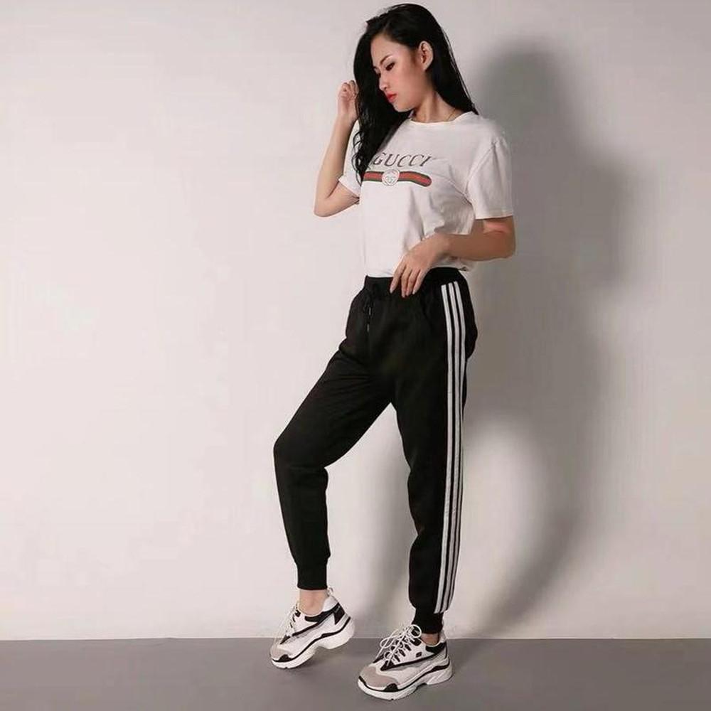 Giày Gucci kết hợp hoàn hảo với quần Jogger