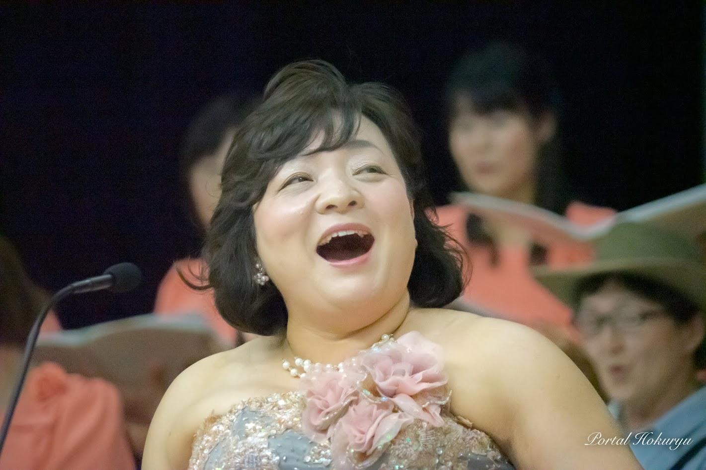 ソプラノ・菊入三恵さん
