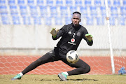 Orlando Pirates' goalkeeper Brilliant Khuzwayo. File photo.