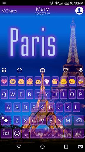免費下載個人化APP|Emoji Keyboard-Paris,Emoticons app開箱文|APP開箱王