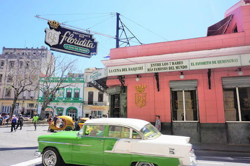El-Floridita-Bar.jpg -  El Floridita Bar in Old Havana was a popular stomping ground for Ernest Hemingway.