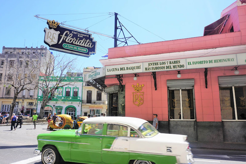 El Floridita Bar in Old Havana was a popular stomping ground for Ernest Hemingway.