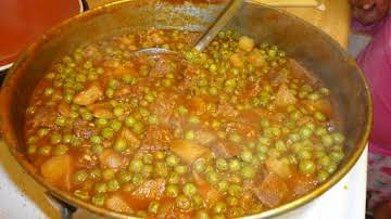 North African Peas & Meat