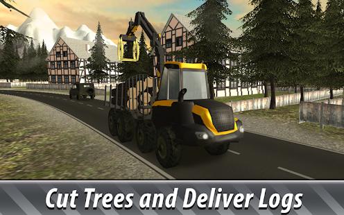 Euro Farm Simulator: Forestry - náhled