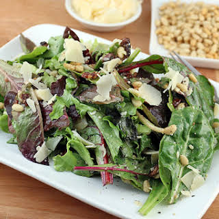 Mixed Spring Green Salad Recipes.
