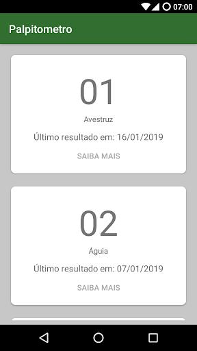 Resultado Jogo Do Bicho 1.5.34 screenshots 6