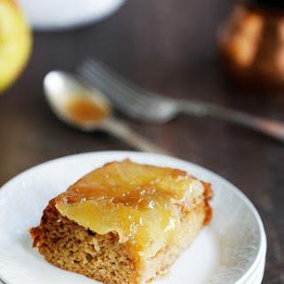 Caramel Apple Upside Down Honey Cake.