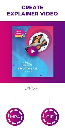 Flyer Maker, Poster Maker With Video 19.0 screenshots 6