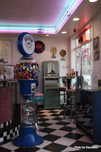 Photo: (Year 2) Day 337 - Inside the Nifty Fiftys Diner