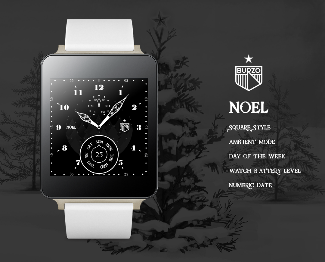 Noel watchface by Burzo- screenshot