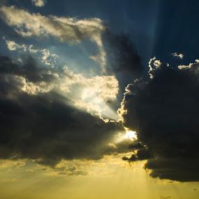 Alentejo Sky by Miguel  Galvão - Landscapes Cloud Formations