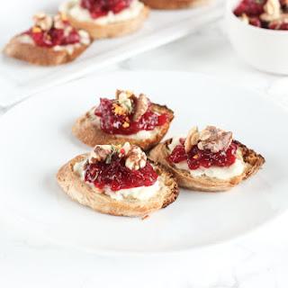 Cranberry Brie Crostini Recipe