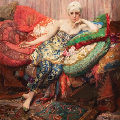 Segoura Fine Art - Herman Jean Joseph Richir - Rose d'Isaphan