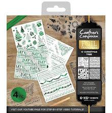 Crafters Companion Foil Transfers - O Christmas Tree