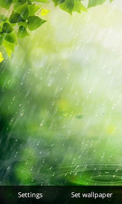 Rain Drop Live Wallpaper Apk Download Apkindocoid