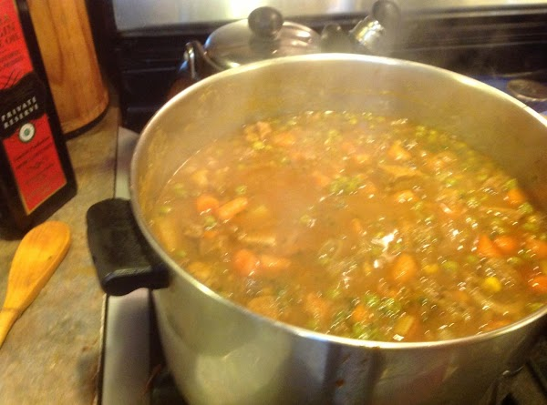 This is the larger pot I had to switch too, after adding the cold...