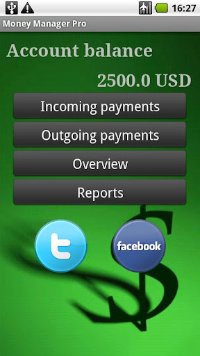 MoneyManager screenshot 2