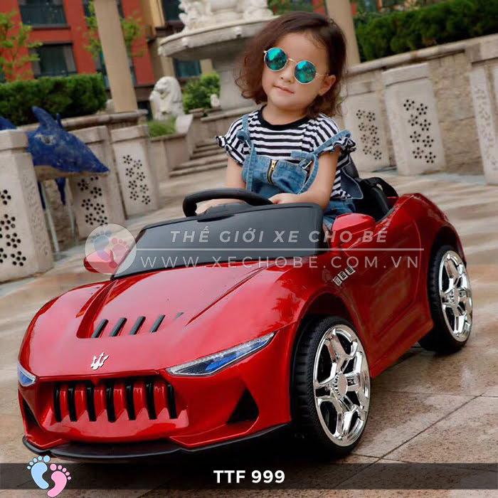 Ô tô điện đồ chơi trẻ em cao cấp TTF-999 2