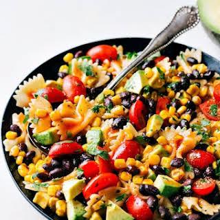 Easy Tex Mex Pasta Salad.