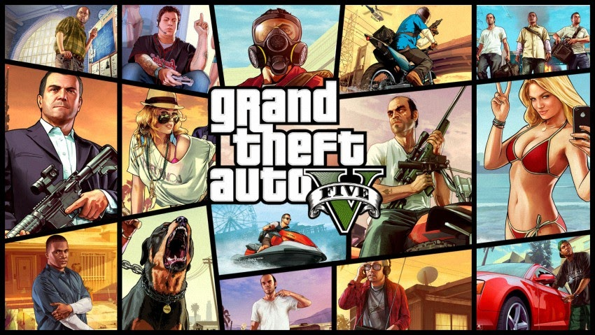 Tải game Grand Theft Auto 5 2015- Download