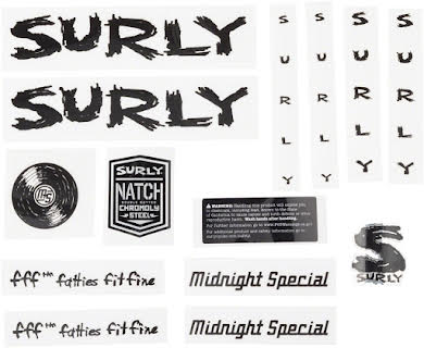 Surly Midnight Special Decal Set alternate image 3