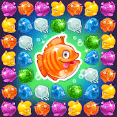 Mermaid puzzle – fish rescue.