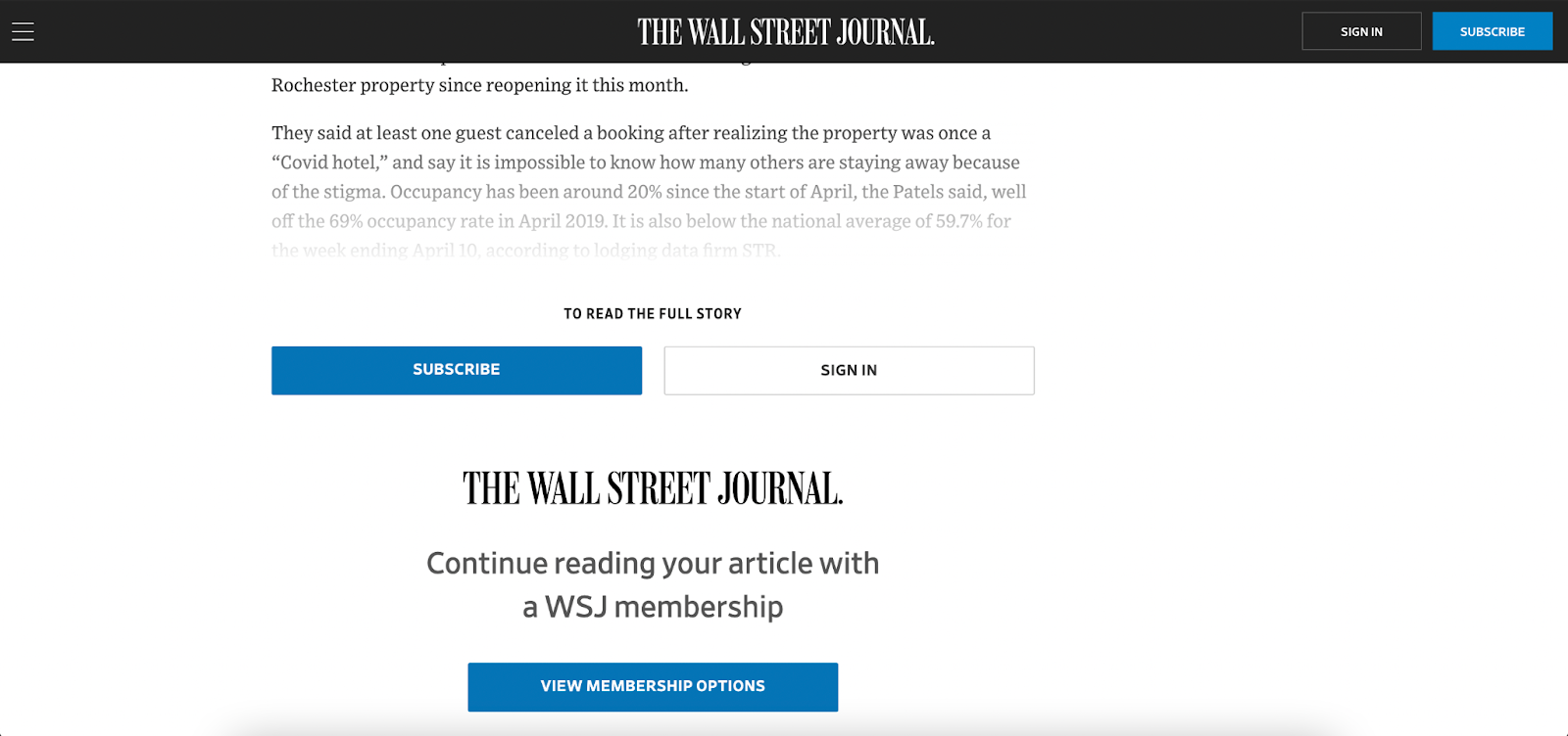 Paywall and SEO.
