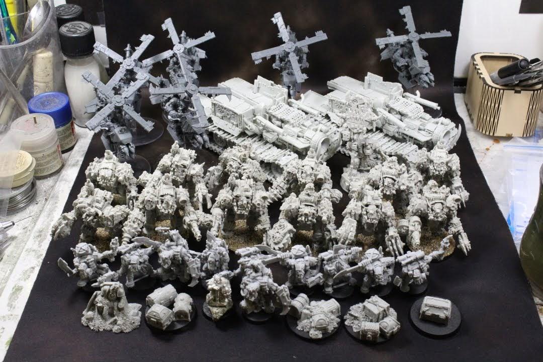 Assembled Orks 1