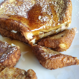 Healthy Cinnamon Vanilla French Toast -Vegetarian.