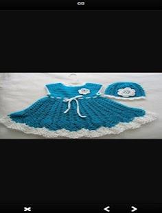 Crochet Baby Dress - náhled