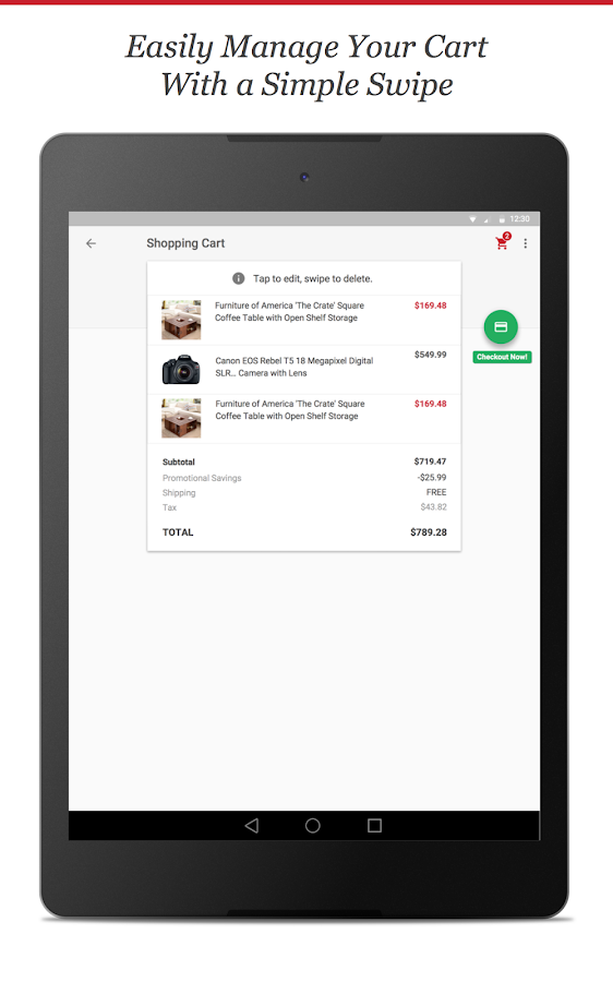 Overstock - Shopping App - screenshot
