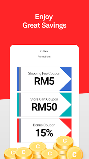 11street - Shopping & Deals | Coupon For New Users 5.0.6 screenshots 2