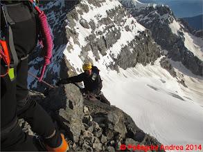 Photo: IMG_8921 Riccardo sulla roccia della Suldengrat