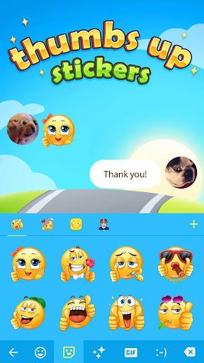 Thumbs Up Emoji Sticker v1.0 screenshots 1