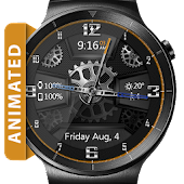 Carbon Gears HD Watch Face