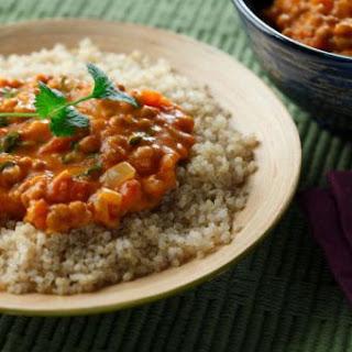 Coconut Thai Curry Lentils with Quinoa Recipe