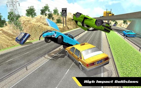 Realistic Car Crash Simulator: Beam Damage Engine
