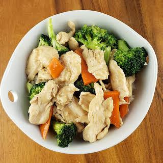 Chicken Broccoli Stir-fry.