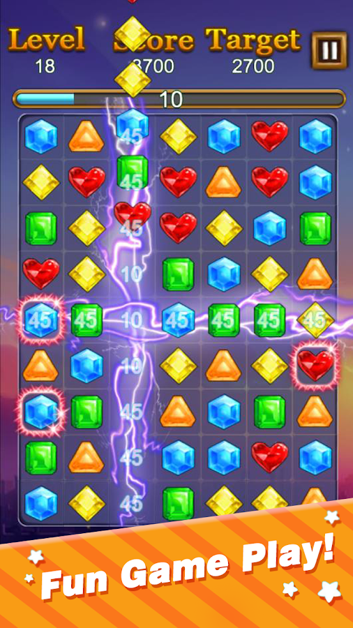 Jewels Blitz HD- screenshot
