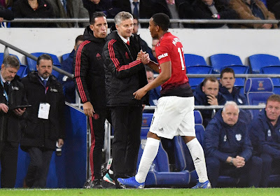 Ole Gunnar Solskjær, le coach de Manchester United attend beaucoup d'Anthony Martial