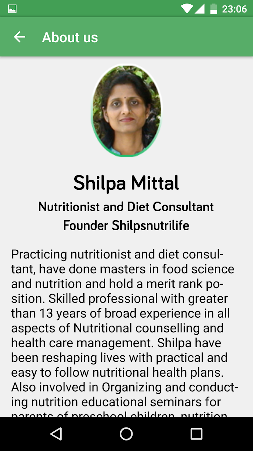 Shilpsnutrilife- screenshot