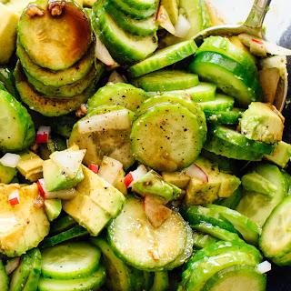 Gaby's Cucumber Salad.