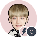 EXO BAEKHYUN Battery Widget