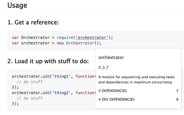 GitHub Module Highlighter