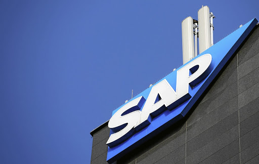 The logo of German software group SAP is pictured in Vienna, Austria. Picture: REUTERS