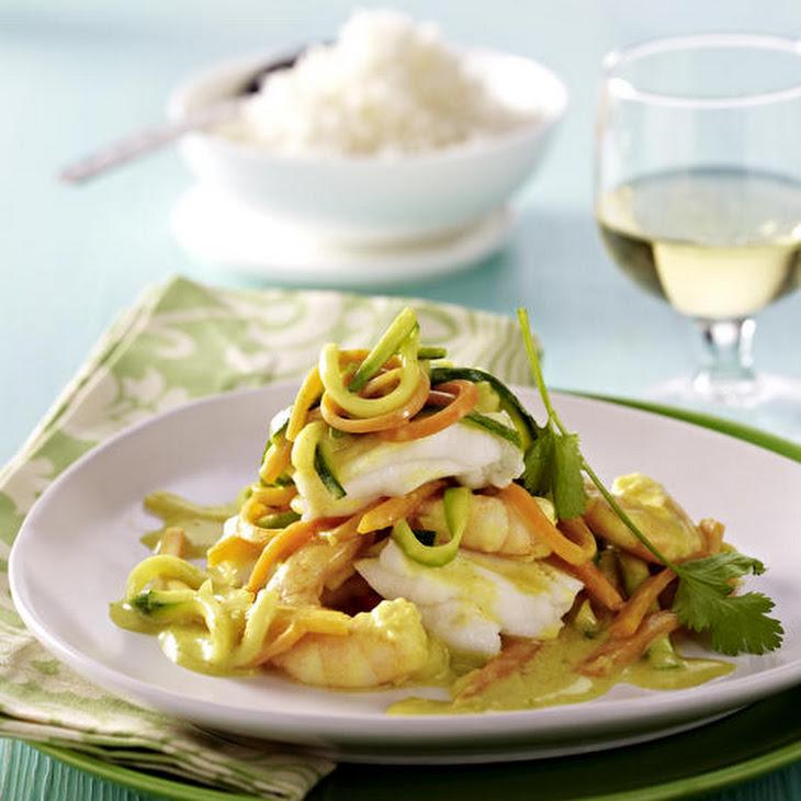 Cod and Prawn Curry