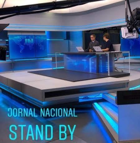 Carlos Tramontina e Renata Lo Prete  no Jornal Nacional