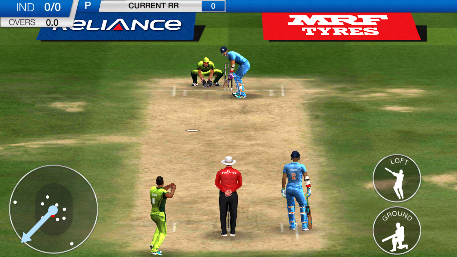 Icc pro cricket 2015 screenshot